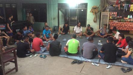 Sosialisasi Persiapan Pelaksanaan Pembangunan Drainase Gang Mawar 1