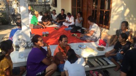 Sosialisasi Persiapan Pelaksanaan Pembangunan Fisik di Gang Bedahulu